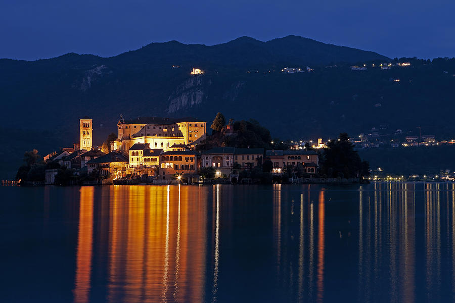 Orta Photograph - Island Of San Giulio by Joana Kruse