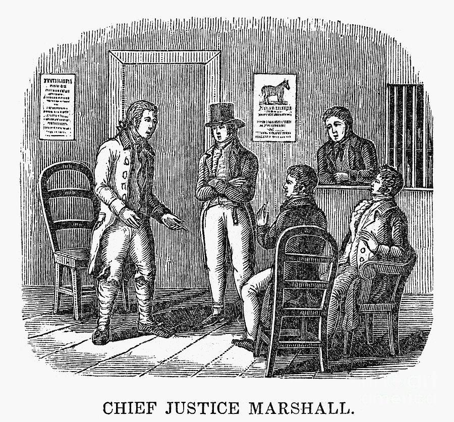 1820 Photograph - John Marshall (1755-1835) by Granger