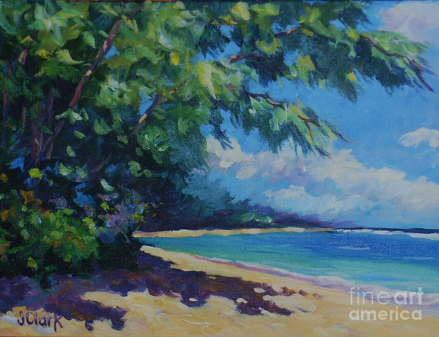 7-mile Beach Painting  - 7-mile Beach Fine Art Print