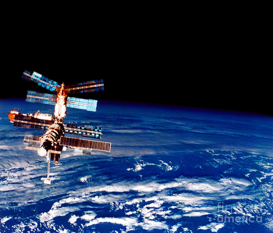 Mir Space Station Photograph