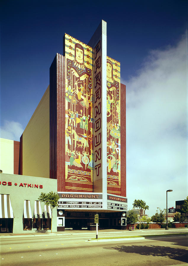 Movie Theaters, The Paramount Theatre Photograph  - Movie Theaters, The Paramount Theatre Fine Art Print
