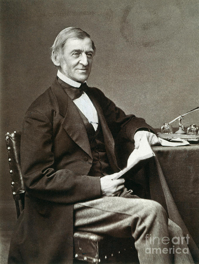 Ralph Waldo Emerson Photograph