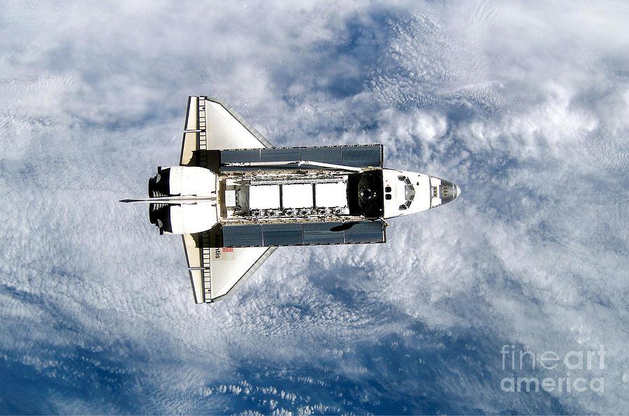 Space Shuttle Atlantis Photograph by Stocktrek Images