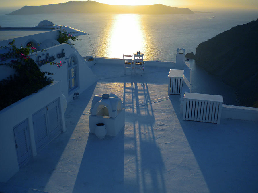 Sunset Santorini Greece Photograph  - Sunset Santorini Greece Fine Art Print