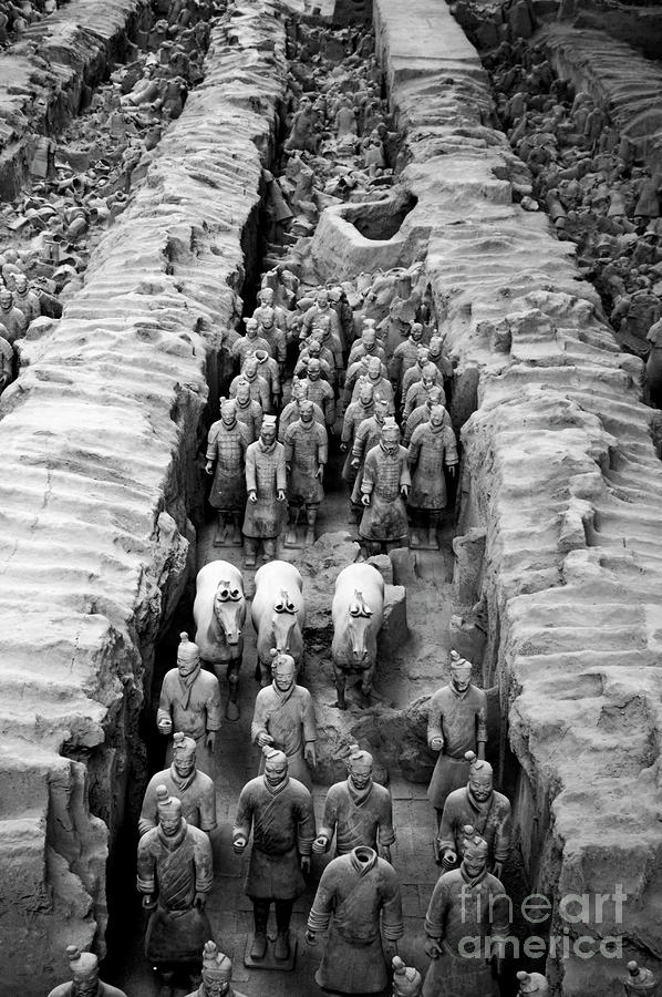 The Terracotta Army Photograph  - The Terracotta Army Fine Art Print