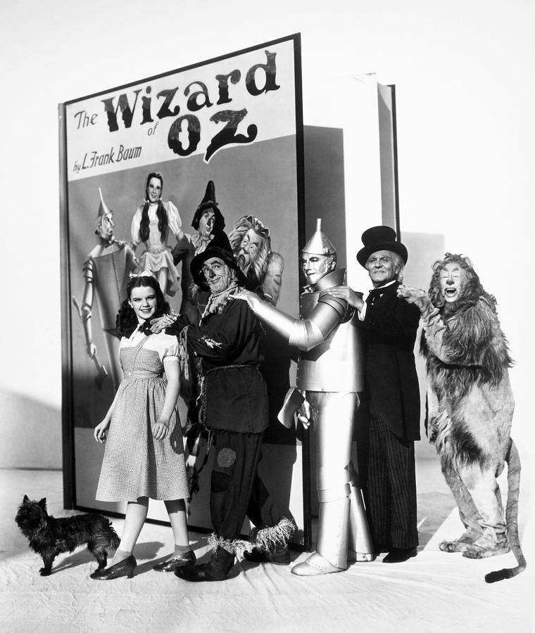 Wizard Of Oz, 1939 Photograph  - Wizard Of Oz, 1939 Fine Art Print