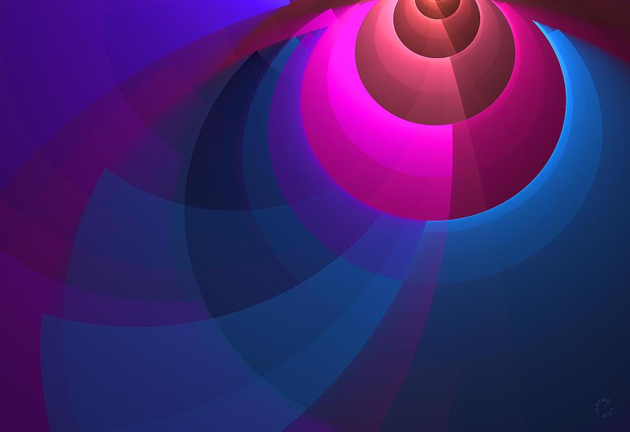 Abstract Art Digital Art - 732 by Lar Matre