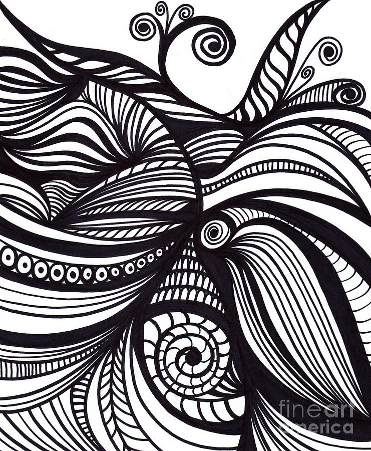 Abstract Line Art Design : Abstract by hd connelly