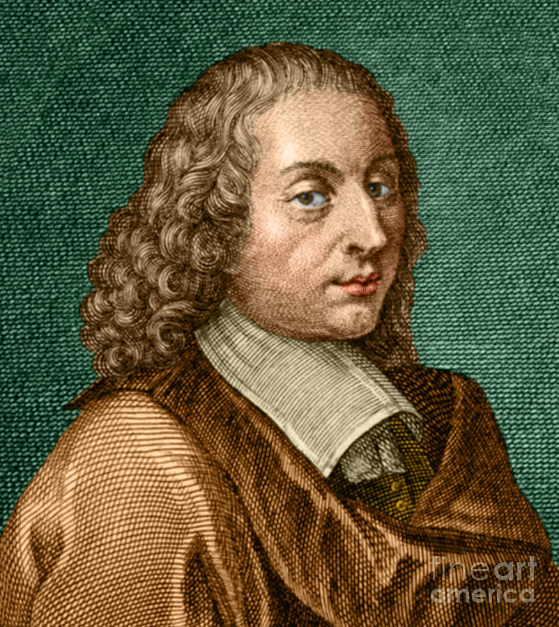 Blaise Pascal French Polymath Photograph By Science Source