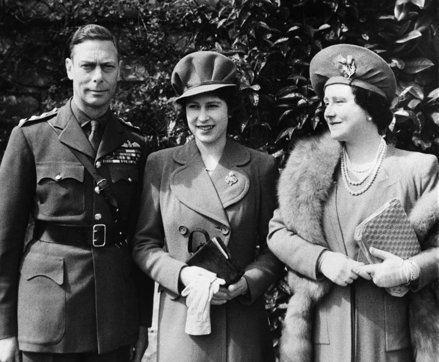 British Royal Family. From Left British Photograph  - British Royal Family. From Left British Fine Art Print