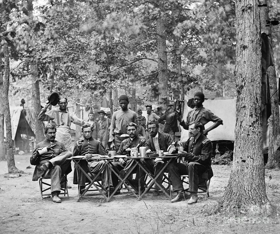 Civil War: Union Officers Photograph
