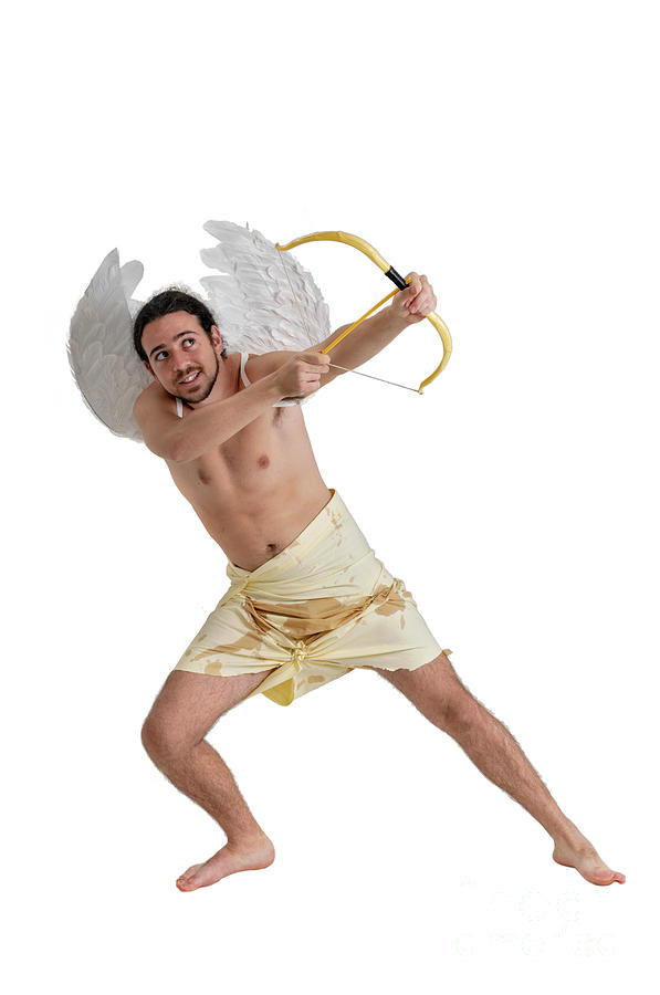 Cupid The God Of Desire Photograph