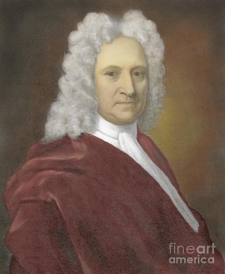 Edmond Halley, English Polymath Photograph  - Edmond Halley, English Polymath Fine Art Print
