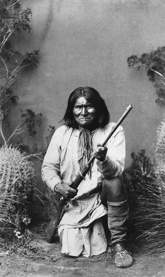 Geronimo (1829-1909) Photograph  - Geronimo (1829-1909) Fine Art Print