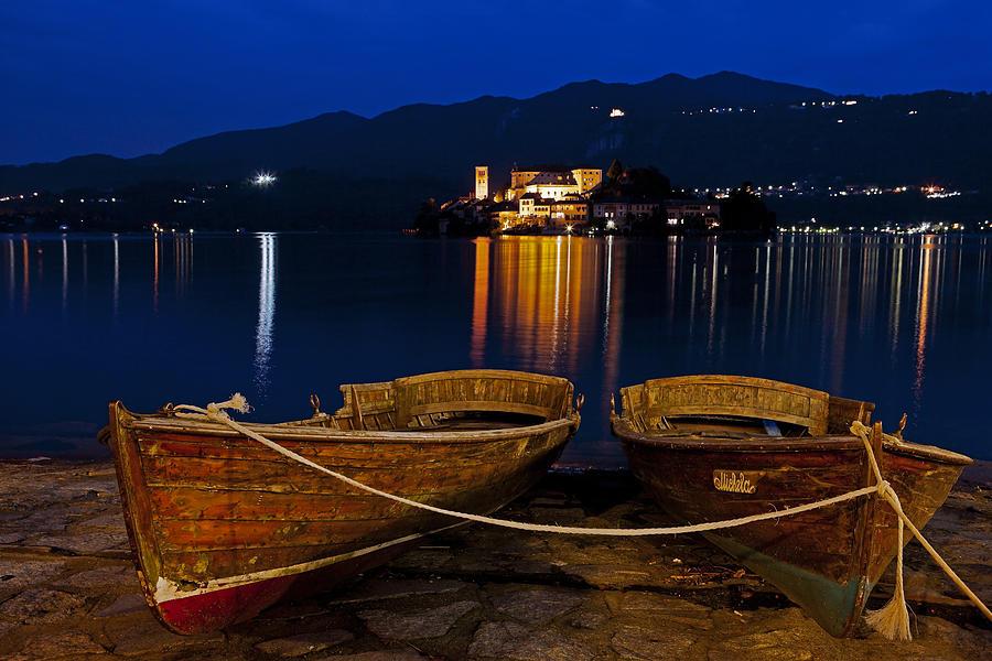 Island Of San Giulio Photograph