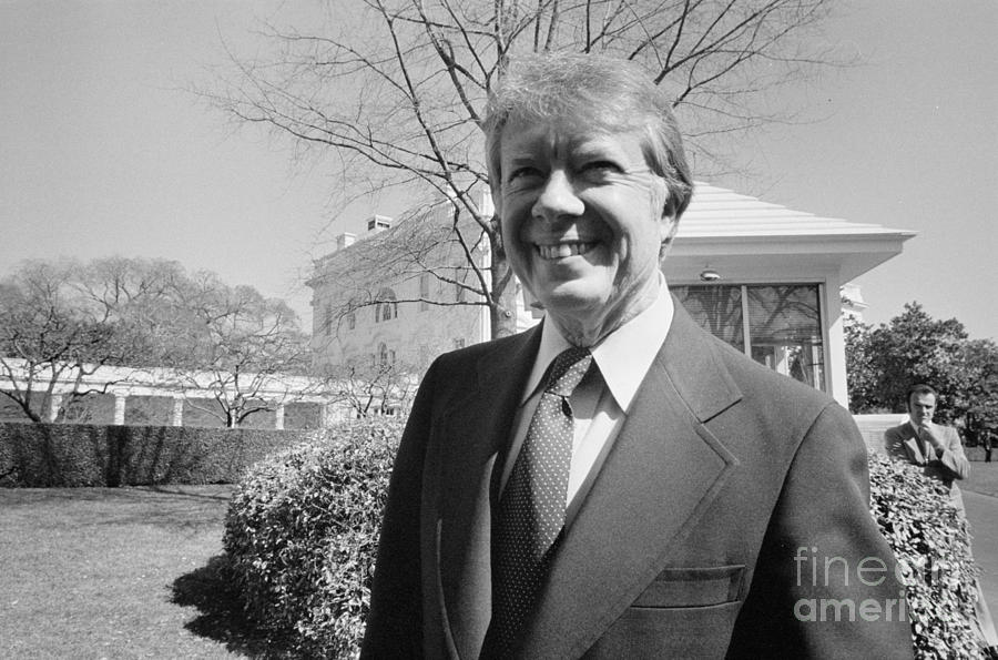 Jimmy Carter (1924- ) Photograph  - Jimmy Carter (1924- ) Fine Art Print
