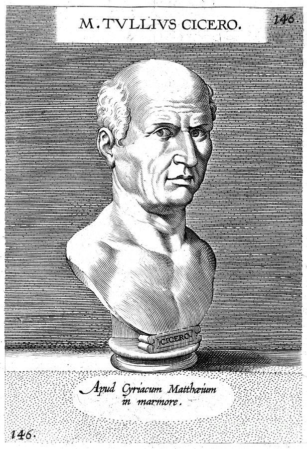 1st Century B.c Photograph - Marcus Tullius Cicero by Granger