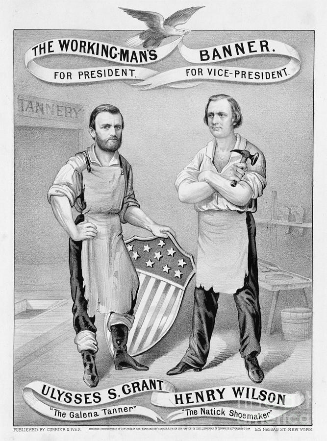 Presidential Campaign, 1872 Photograph