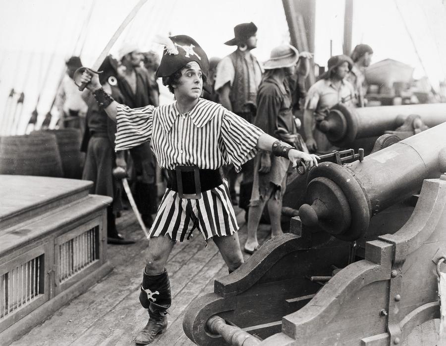 Silent Film Still: Pirates Photograph