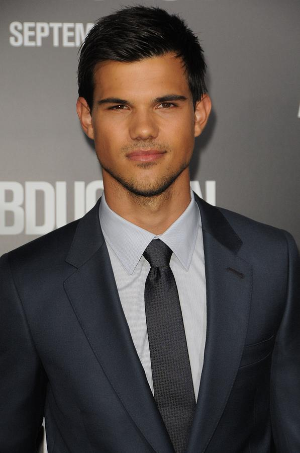 Taylor Lautner At Arrivals Photograph