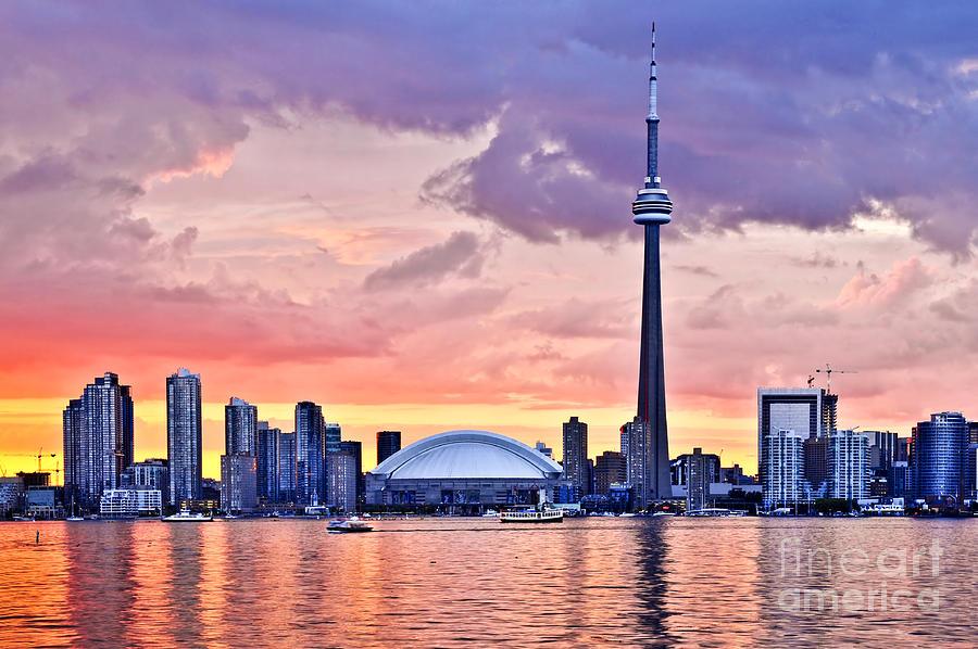 Toronto Skyline Photograph By Elena Elisseeva