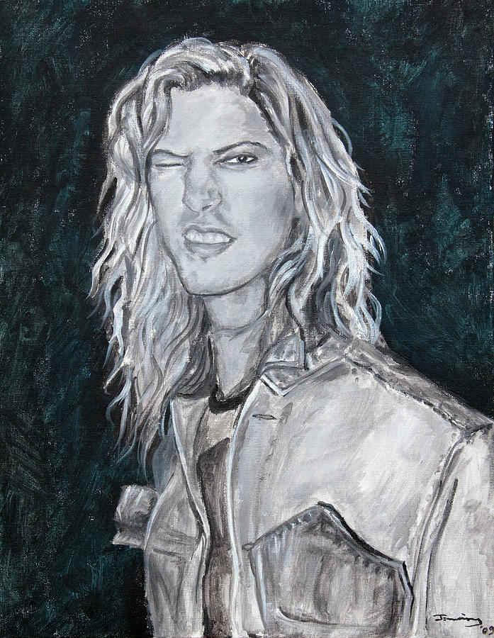 80s Rock Painting