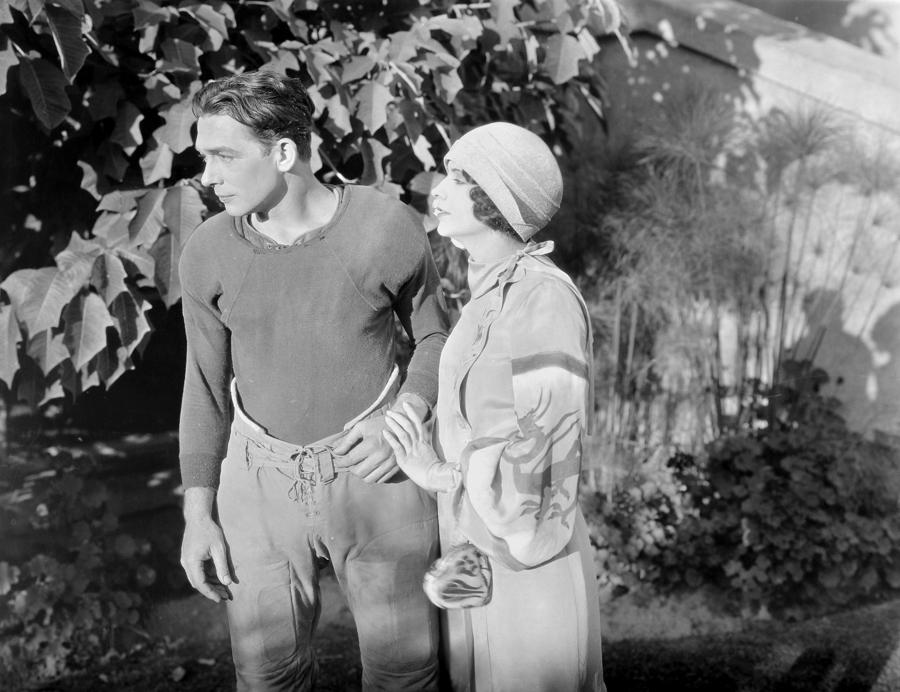 Silent Film Still: Couples Photograph