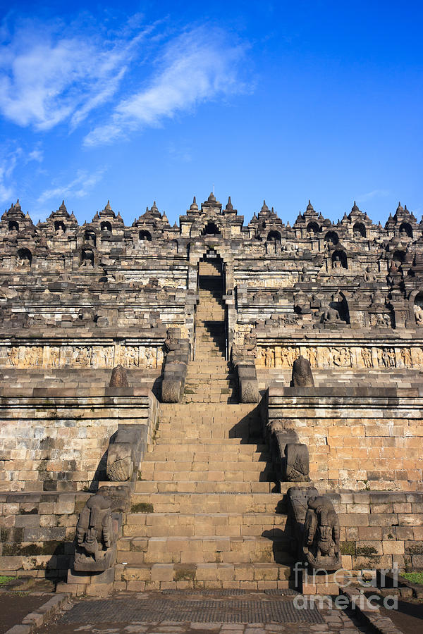 Borobudur Photograph - Borobudur by MotHaiBaPhoto Prints