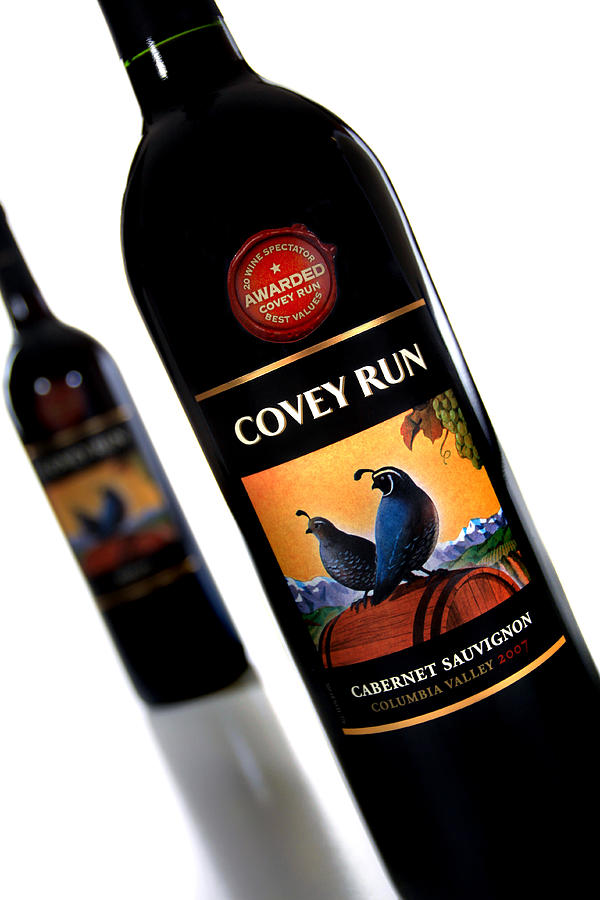 Covey Run Wines Photograph  - Covey Run Wines Fine Art Print