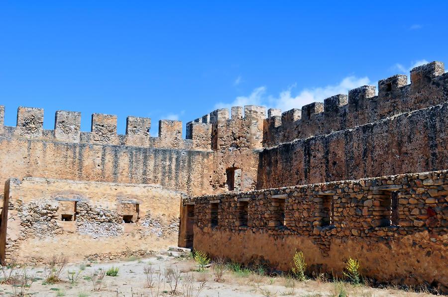 Frangocastello Castle. Photograph