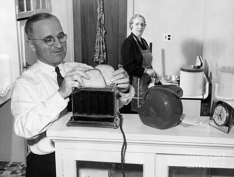 Harry S. Truman (1884-1972) Photograph  - Harry S. Truman (1884-1972) Fine Art Print