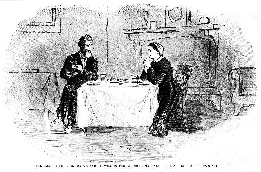 1859 Photograph - John Brown (1800-1859) by Granger