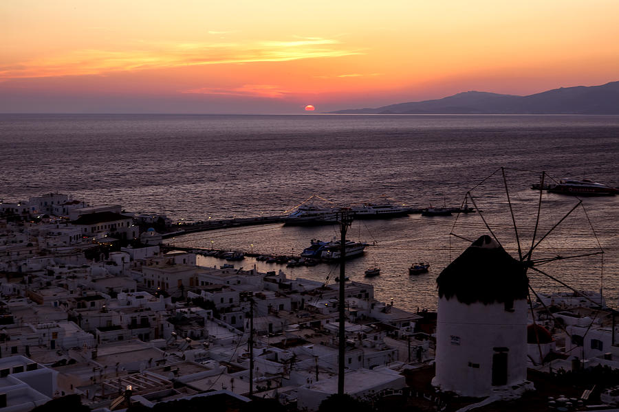 Mykonos Photograph