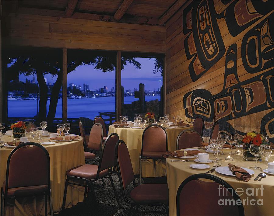 Beachfront Photograph - Restaurant by Robert Pisano