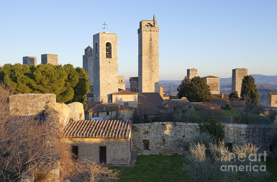 San Gimignano Photograph