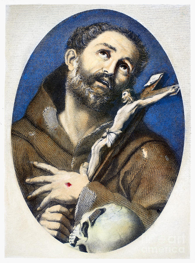 St. Francis Of Assisi Photograph  - St. Francis Of Assisi Fine Art Print