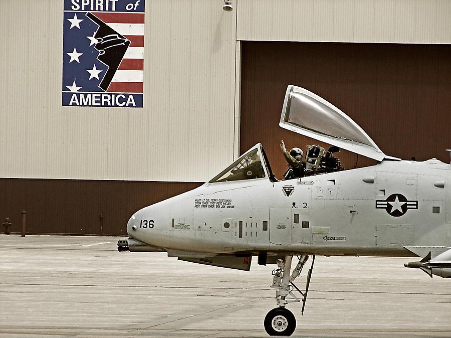 A10 Photograph - A-10 Thunderbolt by Lamyl Hammoudi