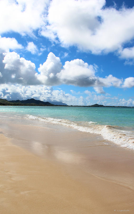 A Beautiful Day At Kailua Beach Hawaii Photograph