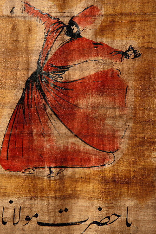 A Beautiful Painting Of A Whirling Photograph