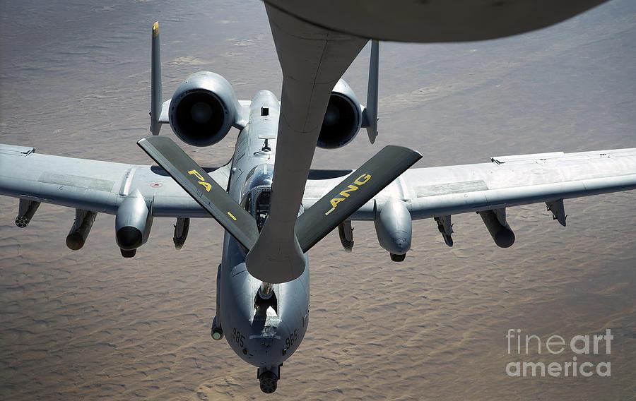 A Boom Operator Refuels An A-10 Photograph