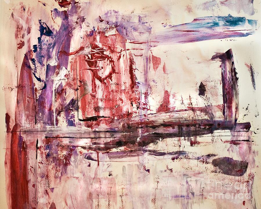 A Broken Heart Still Beats Painting