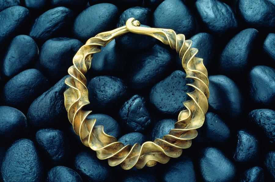 A Bronze Neck Ring From 600 B.c. That Photograph  - A Bronze Neck Ring From 600 B.c. That Fine Art Print