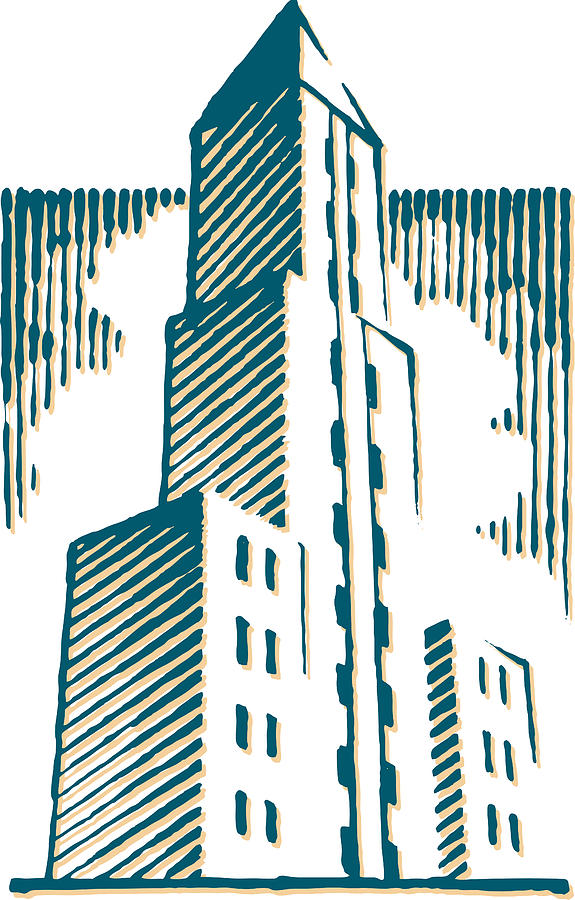 A Building Digital Art
