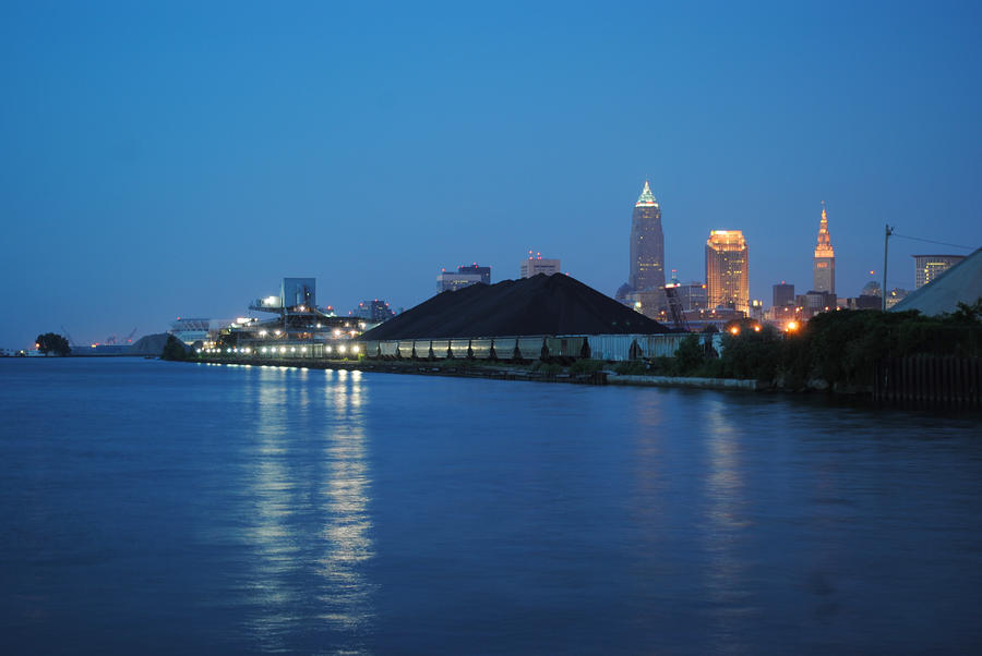 A Cleveland Night Photograph  - A Cleveland Night Fine Art Print