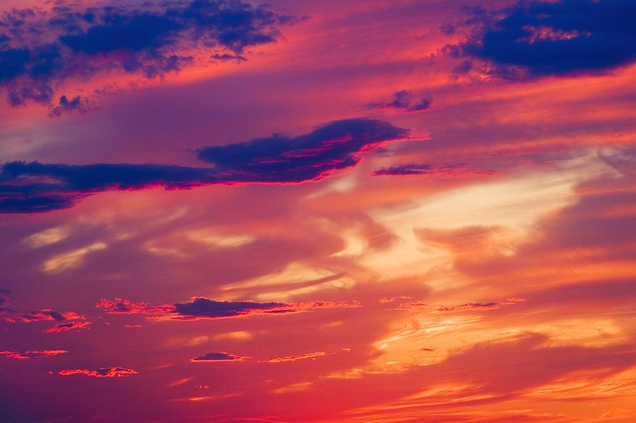 A Colorful Sky Photograph