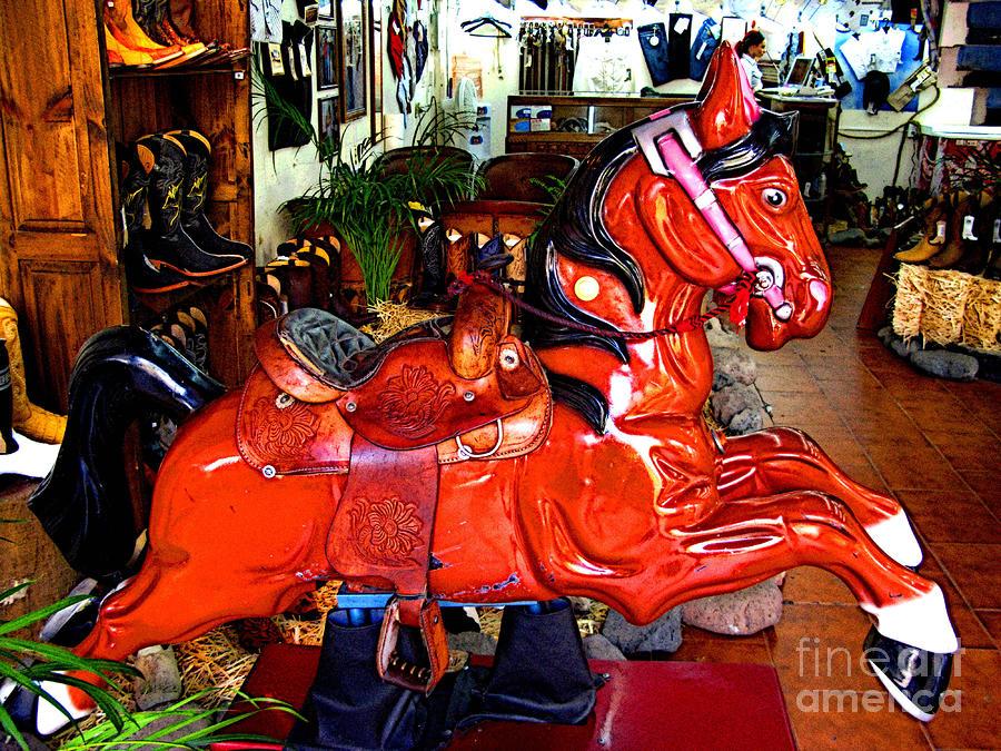 A Cowboys Horse Photograph