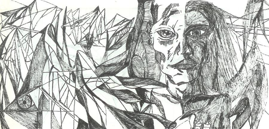 A Face - Sketch Drawing