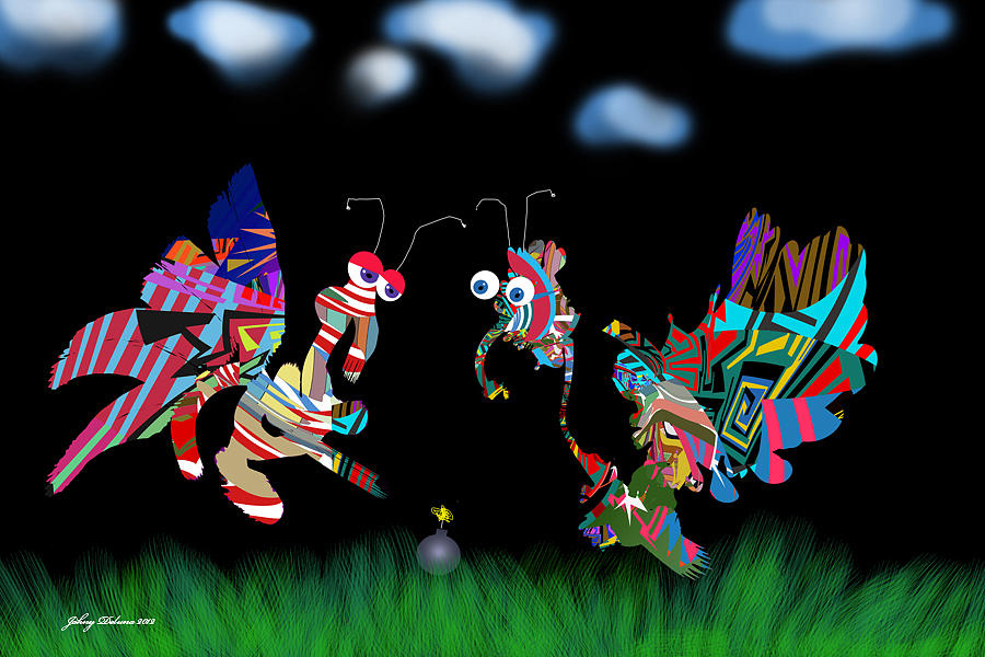 Fools Digital Art - A Failed Peace Plan by Johny Deluna