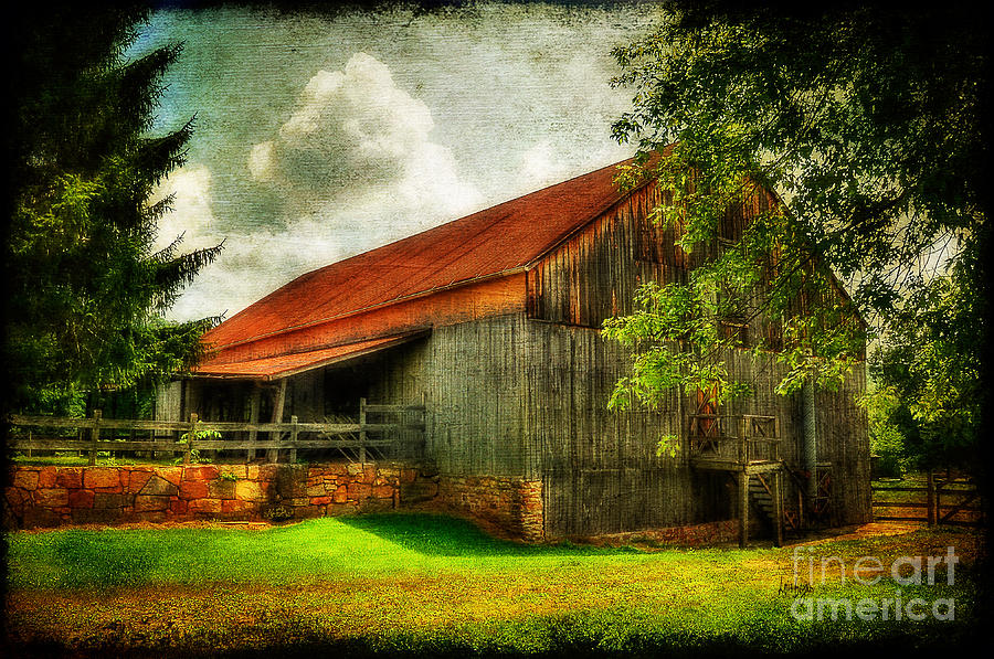 A Farm-picture Photograph  - A Farm-picture Fine Art Print