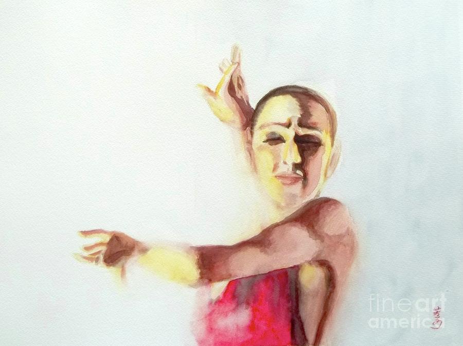 A Flamenco Dancer Painting
